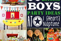 boy parties. / by Amanda Bain