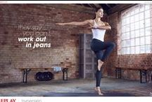 HYPERSKIN / Work out in your #hyperskin jeans!  #Replay creates a revolutionary product which is hyper elastic, hyper light and hyper natural. #jeansyoucanworkoutin #replayjeans / by REPLAY