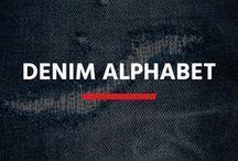 REPLAY// Denim Alphabet / Replay denim from A to Z.