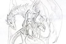Nicole Cadet Fantasy Art / My art, sketches, commissioned paintings, illustration and random scribbles