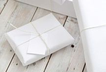 Gifts Wrapping & Packaging / by Kat Jones