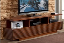 TV Stands / Our collections of TV stands fuse fashion and function helping you to organize everything from televisions to audio/video accessories.
