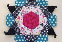 Quilts: Paper Piecing & Hand Work