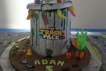 Trash Pack Birthday / Ideas and inspiration for a Trash Pack themed birthday party - we have just done one for my son Adam's 5th birthday so I have pinned some of my own pictures here too.