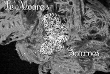 Le'Moore's Scarves (267) 231-1532 / Chrochet, Scarves, Cowls, crochet jewelry,  neck ware,