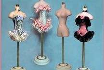 Doll Making- Accessories and Clothes / Clothing and Accessories for Miniatures and Dolls