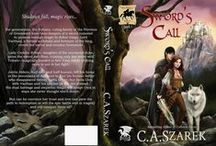 Nicole Cadet Book cover illustrations & Design work / Illustrations, text layout, design work for authors. I am available for custom cover art commissions!