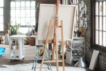 Art studio / by Kat Jones