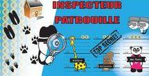 Jeu de société  - Inspecteur Patrouille / Jeu de société  - Inspecteur Patrouille