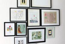 Wall Displays  / by Kristen Harper