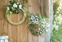 MARIAGE / WEDDING / Toutes nos inspirations pour votre mariage : idées de robe de mariées, de décoration de table, de fleurs...