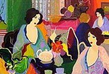 Art / Art, paintings,watercolors, oils, acrylics, mixed media Category- art / by Janice Pennington