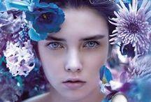 HALLOWEEN BLUE DROP / A tender freshness, the soft caress of a drop of water.