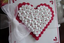 Cards - hearts/valentines day