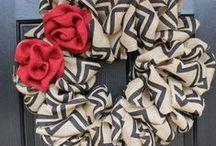 Wreaths!  / by Ashley Guidry