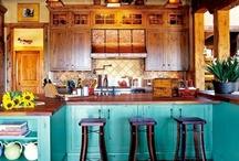 Home Design - Kitchen & Bathroom / by Tasha Lambert