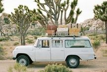 road trip X camping / Get out & go! Road trip meets camping inspiration.