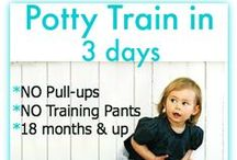 Potty Training / Potty Training ideas & tips