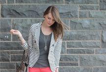 fashion - my wardrobe styling ideas / by Emily Dombeck