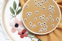 BRODERIE / EMBROIDERY / DIY broderie / Embroidery / Broderie contemporaine