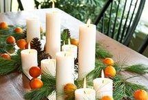 Thanksgiving Decor / http://www.providencehomesinc.com/