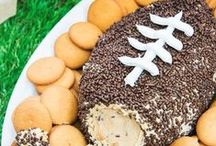Football Party Food / Let's watch football...and eat!