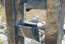 Kivikkopihan esineitä / Kivoja, kivikkopihaan sopivia esineitä