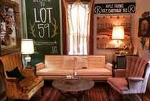 { Have a Seat or Lounge } / vintage upholstered seating, lounge for special events prop rentals...