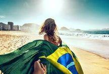 we ♥ Brazil / Praias lindas, paisagens incríveis, monumentos históricos, construções modernas... como não amar,