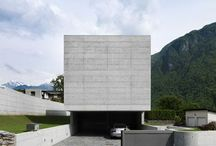 Arch house concrete