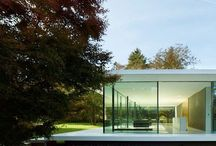Arch house modern 1storey