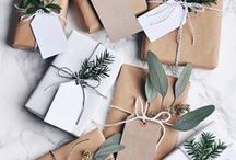 DIY emballage cadeaux / Gift Wrapping