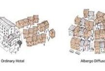 Albergo Diffuso sintesi / Illustrazioni grafiche sull'Albergo Diffuso