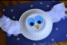 Paper Plate Crafts / by Kim Ricker