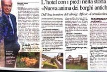 Rassegna stampa Albergo Diffuso / La Rassegna stampa italiana sull'Albergo Diffuso è da primato!