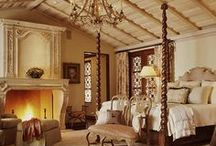 dreamy bedrooms / by Kathleen Hereford