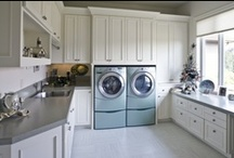 utility rooms / by Kathleen Hereford