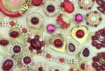 Valentine's Day Jewels  / Seeing red isn't unusual this time of the year, here is some inspiration for Valentine's Day!