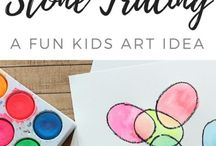 Kiddo projects / Arts & crafts for kids!