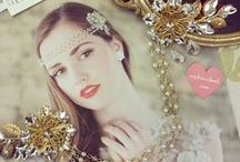 Bridal Jewels & Headpieces / Bridal jewelry and hair accessories available at SOPHIESCLOSET.COM