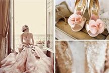 { of blush and gold weddings }