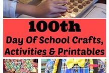100th Day Of School Ideas / Crafts, Games And Activities To Help You Celebrate The 100th Day of School!