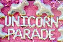 19 / my 19th birthday party. it's going to be filled with bright colors + glitter + goodie bags + unicorns + cotton candy + fun.....because lets be real, the older you get, birthday parties aren't as fun as they were when you were little / by Emily Rose
