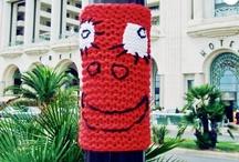 Yarn Bombing - Public Spaces