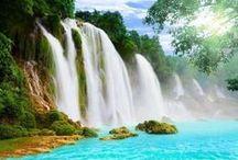 """Cascade / Waterfalls / Cascade et chute d'eau   Waterfalls  """"Bientôt 1000 Photos différentes"""" / by Fleurs d'avenir"""
