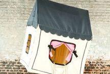 Kids - tent & house