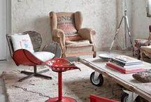 Home Decoration / Industrial, Shabby chic, retrò, vintage, boho style / by Zigzagmom