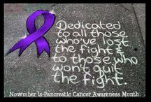 Purple with a Purpose / This board is dedicated my Grandfather who battled Pancreatic Cancer.