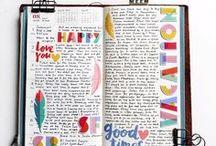 Papeleria / Stationery / Papeleria bonita y creativa. Artículos y tiendas para organizarse mejor.