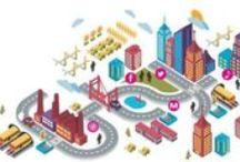 Smart cities / Villes intelligentes, villes numériques